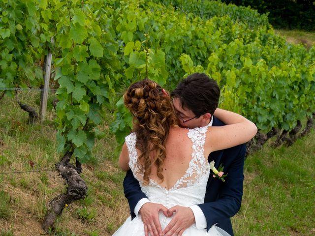 Le mariage de Frédéric et Ludivine à Saint-Clément-sur-Valsonne, Rhône 15