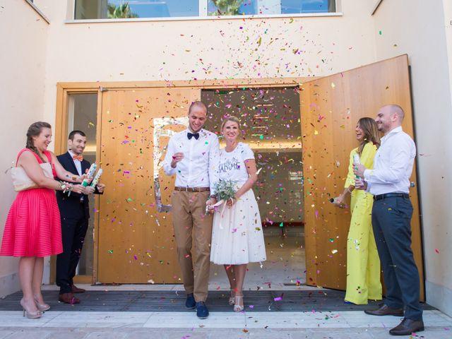 Le mariage de Florent et Chloé à Hyères, Var 12