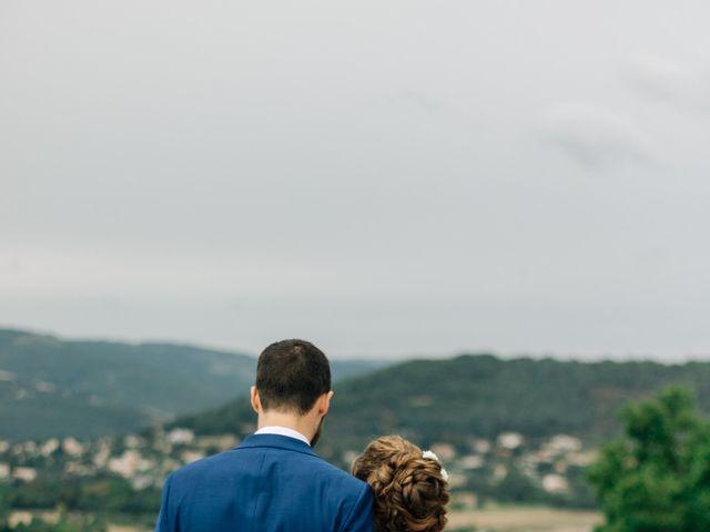 Le mariage de Julien et Caroline à Saint-Clair, Ardèche 28