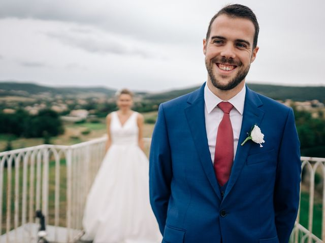 Le mariage de Julien et Caroline à Saint-Clair, Ardèche 32