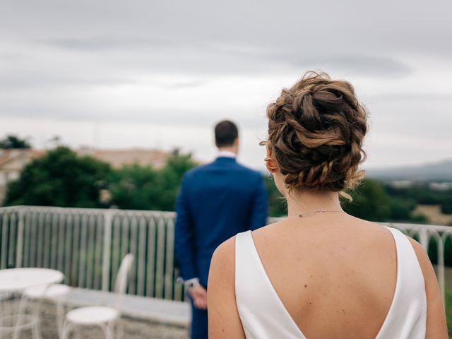 Le mariage de Julien et Caroline à Saint-Clair, Ardèche 33