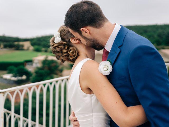 Le mariage de Julien et Caroline à Saint-Clair, Ardèche 35