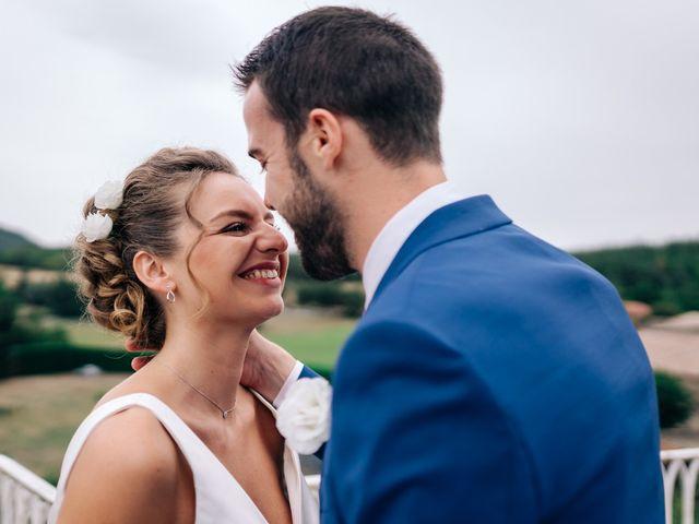 Le mariage de Julien et Caroline à Saint-Clair, Ardèche 38