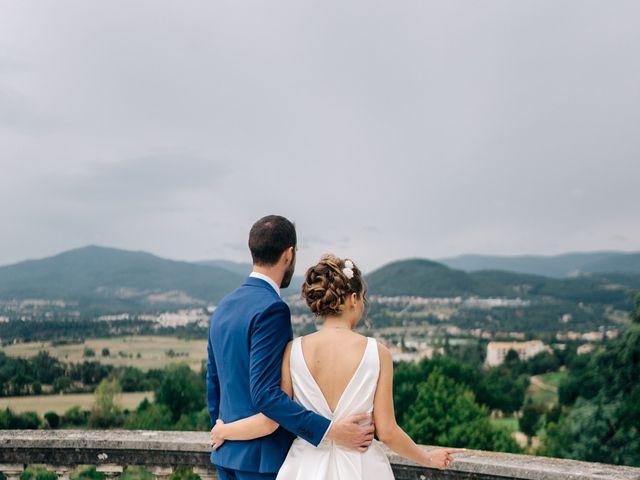 Le mariage de Julien et Caroline à Saint-Clair, Ardèche 41