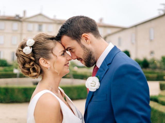 Le mariage de Julien et Caroline à Saint-Clair, Ardèche 43