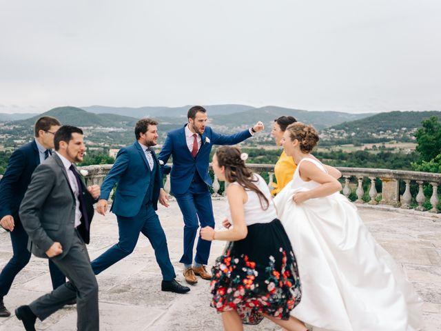 Le mariage de Julien et Caroline à Saint-Clair, Ardèche 47