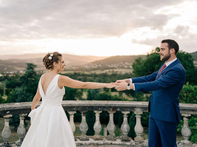 Le mariage de Julien et Caroline à Saint-Clair, Ardèche 63