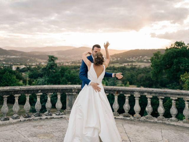 Le mariage de Julien et Caroline à Saint-Clair, Ardèche 64