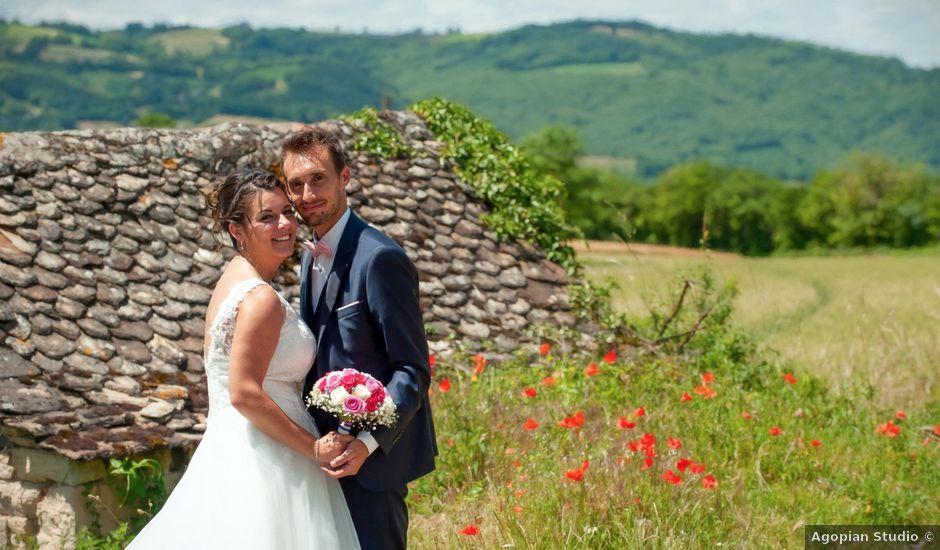 Le mariage de Guillaume et Emilie à Marcillac-Vallon, Aveyron