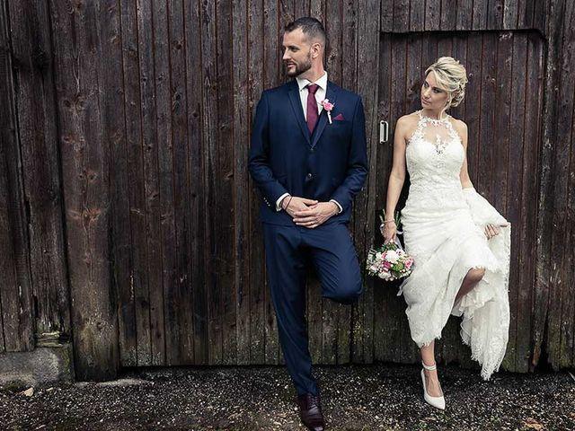Le mariage de Steve et Stéphanie à Winkel, Haut Rhin 10