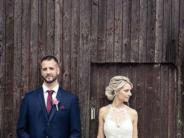Le mariage de Steve et Stéphanie à Winkel, Haut Rhin 11