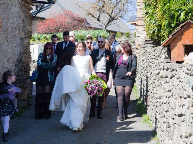 Le mariage de Lorin et Laetitia à Artigues, Ariège 8