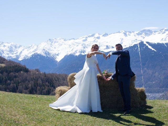 Le mariage de Lorin et Laetitia à Artigues, Ariège 14