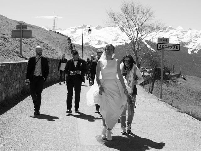 Le mariage de Lorin et Laetitia à Artigues, Ariège 15