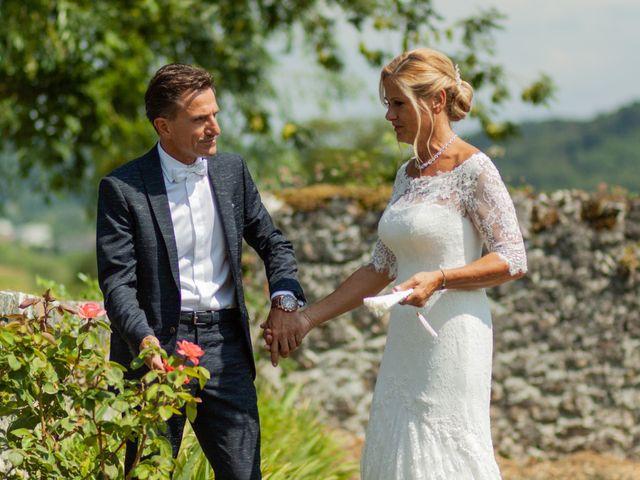 Le mariage de Christophe et Marie-Frédérique à Vignieu, Isère 44