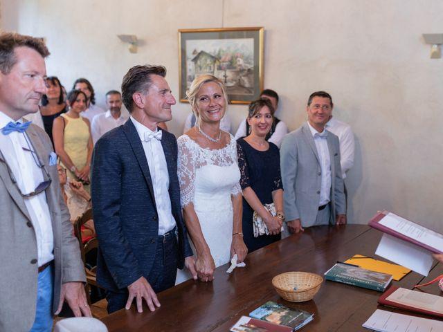 Le mariage de Christophe et Marie-Frédérique à Vignieu, Isère 50