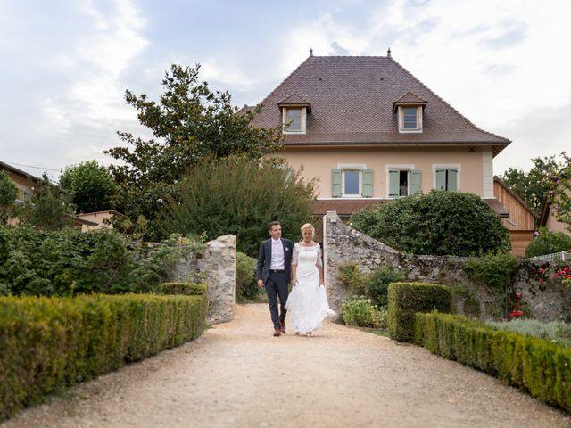 Le mariage de Christophe et Marie-Frédérique à Vignieu, Isère 84
