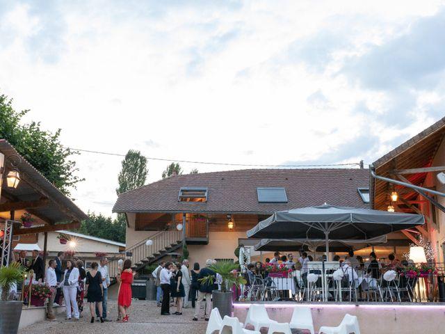 Le mariage de Christophe et Marie-Frédérique à Vignieu, Isère 116