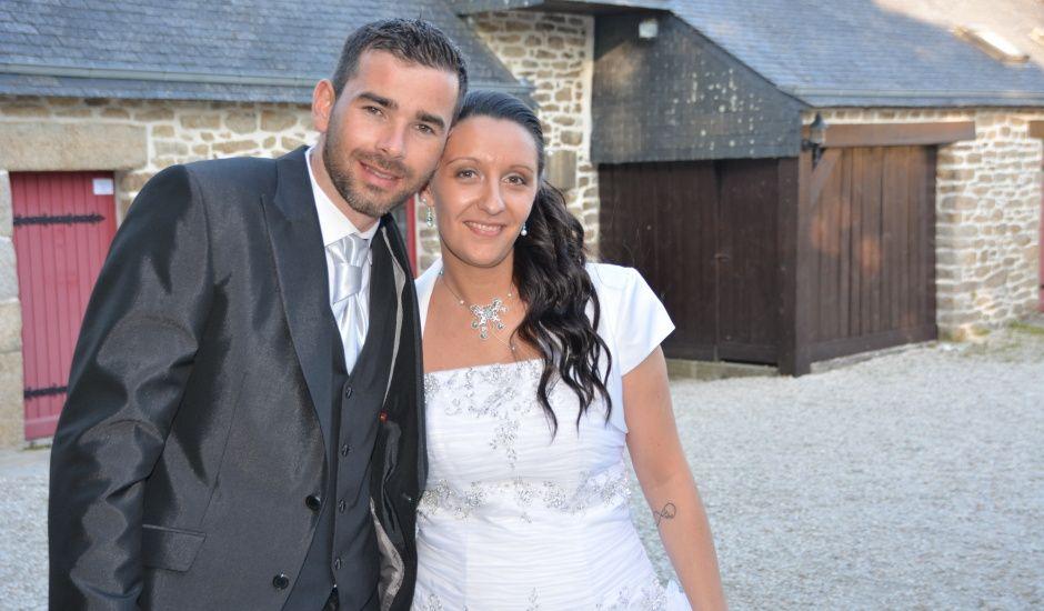 Le mariage de Céline et Julien à Ploudalmézeau, Finistère