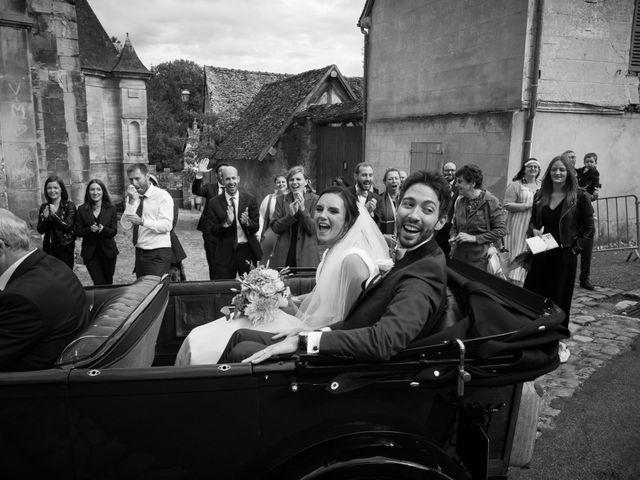 Le mariage de Matthieu et Julie à Dangu, Eure 23