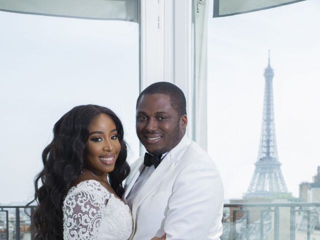 Le mariage de Éniynna et Joyce à Paris, Paris 4