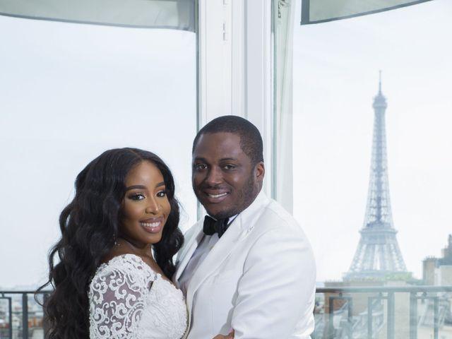 Le mariage de Éniynna et Joyce à Paris, Paris 1