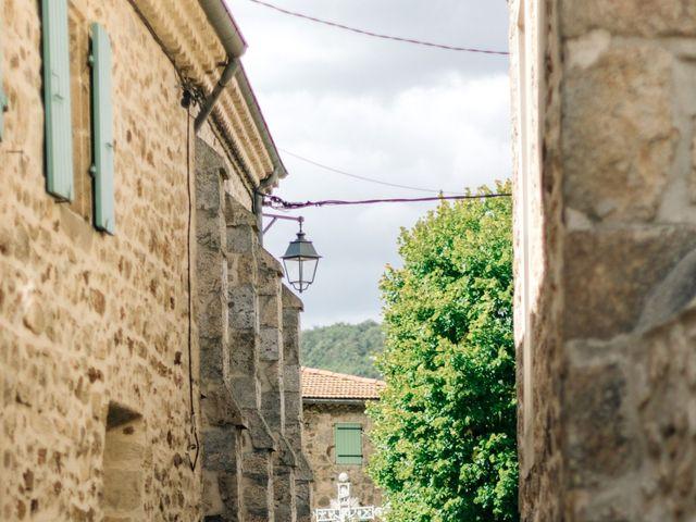 Le mariage de Henrique et Marion à Roiffieux, Ardèche 48