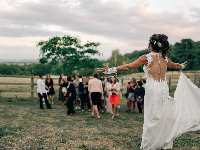 Le mariage de Henrique et Marion à Roiffieux, Ardèche 76