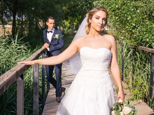 Le mariage de Samia et Romain