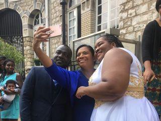 Le mariage de Pricylla  et Nicaise Mandiehi  1