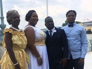 Le mariage de Pricylla  et Nicaise Mandiehi  3