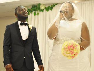 Le mariage de Pricylla  et Nicaise Mandiehi