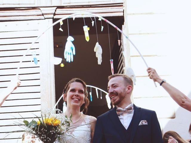 Le mariage de Mathieu et Caroline à Marlenheim, Bas Rhin 43
