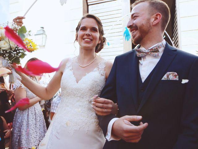Le mariage de Mathieu et Caroline à Marlenheim, Bas Rhin 44