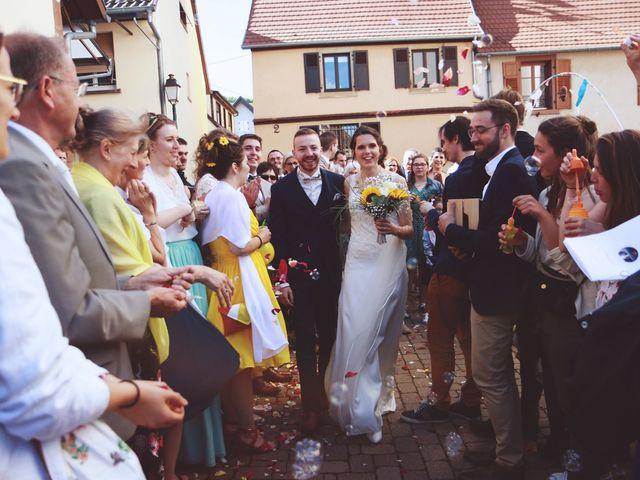 Le mariage de Mathieu et Caroline à Marlenheim, Bas Rhin 46