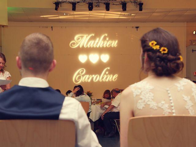 Le mariage de Mathieu et Caroline à Marlenheim, Bas Rhin 78