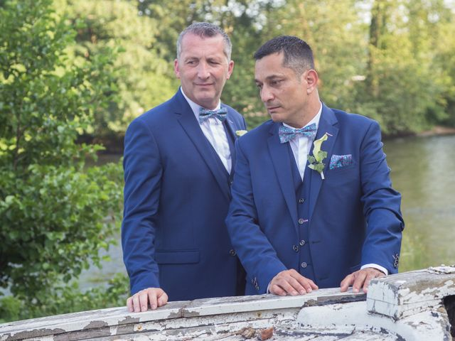 Le mariage de Franck et Luis à Limoges, Haute-Vienne 10