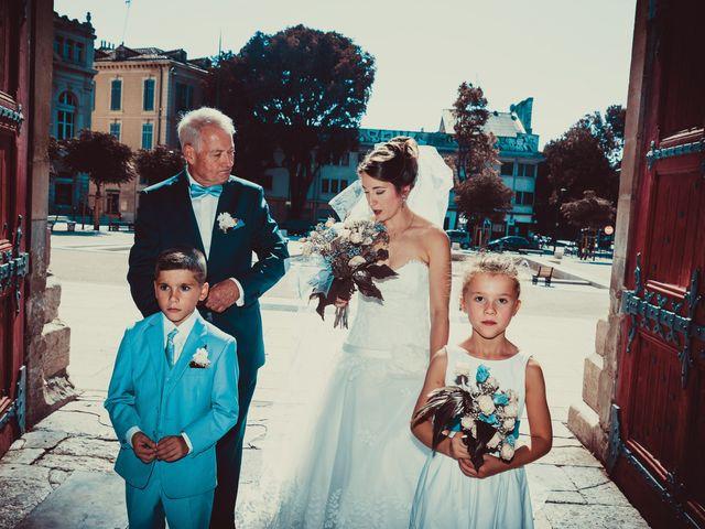 Le mariage de Nicolas et Nicole à Nîmes, Gard 25