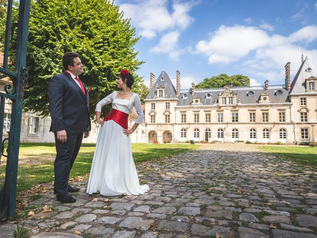 Le mariage de Pierre et Bénédicte à Verberie, Oise 14
