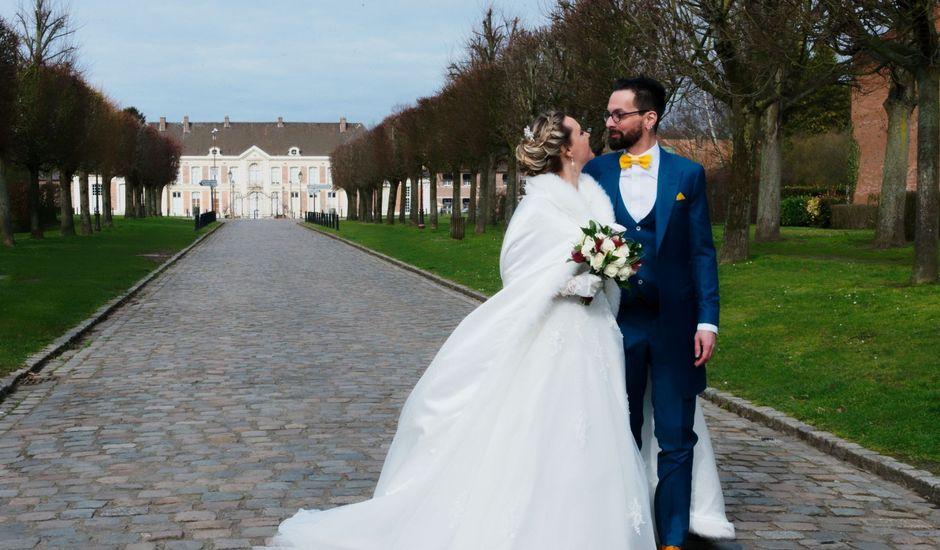 Le mariage de Nathalie et Arnaud à Roost-Warendin, Nord
