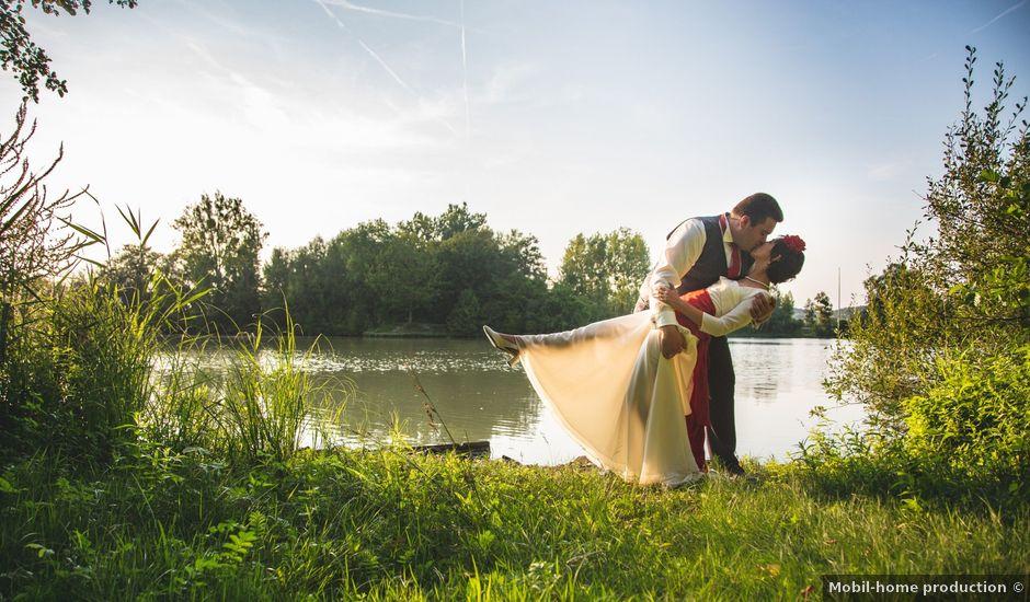 Le mariage de Pierre et Bénédicte à Verberie, Oise
