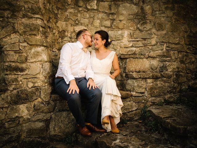 Le mariage de Basil et Lisa à Poët-Célard, Drôme 65