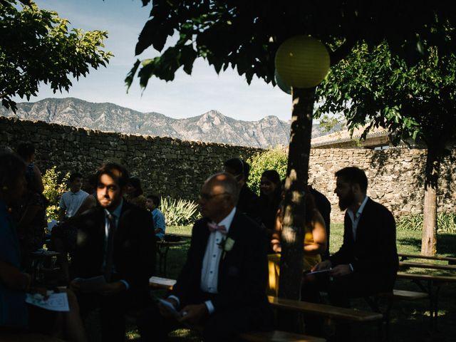 Le mariage de Basil et Lisa à Poët-Célard, Drôme 73