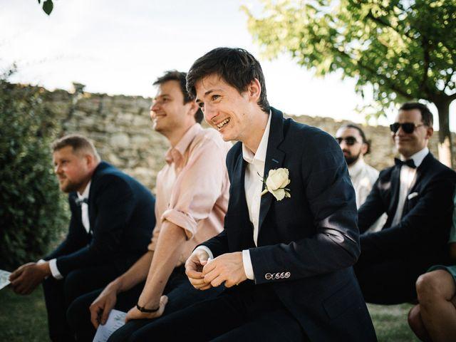 Le mariage de Basil et Lisa à Poët-Célard, Drôme 81