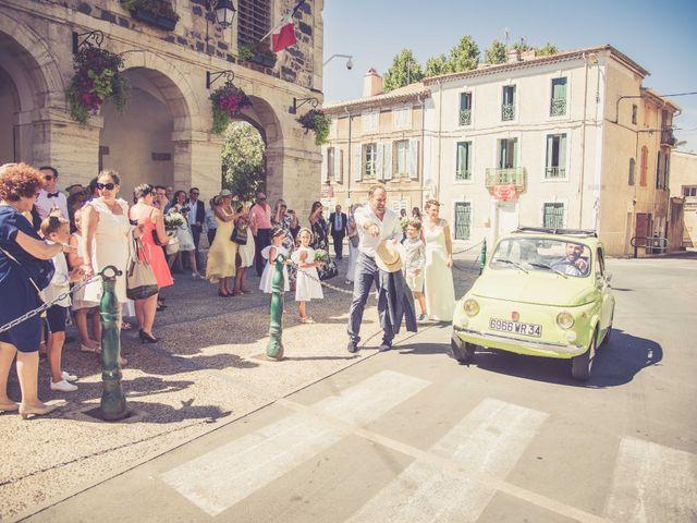 Le mariage de Xavier et Florence à Bessan, Hérault 10