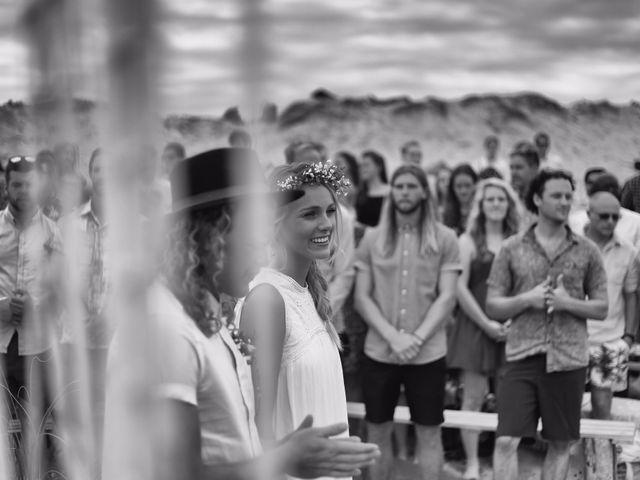 Le mariage de Alec et Tanja à Hossegor, Landes 2