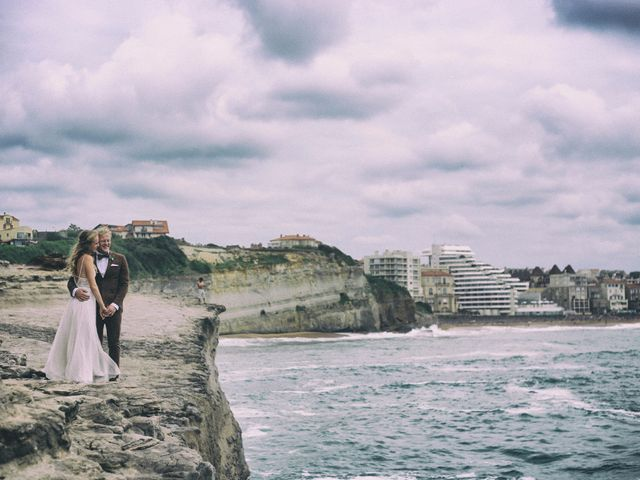Le mariage de Alec et Tanja à Hossegor, Landes 1