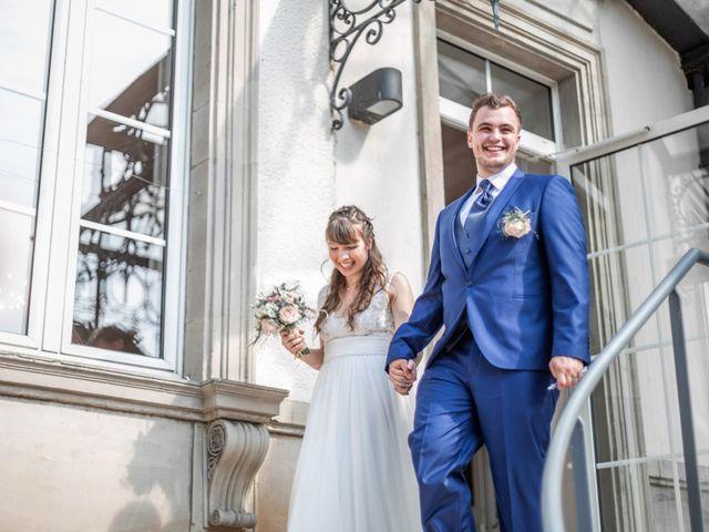 Le mariage de David et Charlène à Arcey, Doubs 13