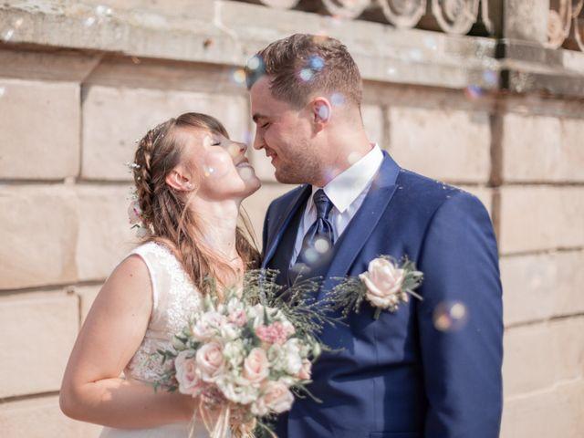 Le mariage de David et Charlène à Arcey, Doubs 14