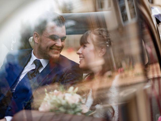 Le mariage de David et Charlène à Arcey, Doubs 16